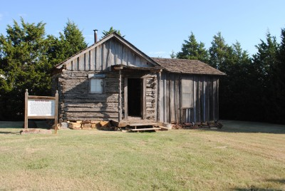 Neal Cabin at the Harn Homestead